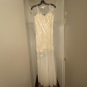 BCBG off white dress